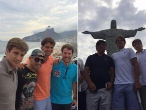 Rafael Nadal se relaja en Río de Janeiro previo a debut en el torneo