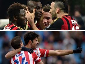Milan enfrenta al Atlético Madrid por octavos de Champions League