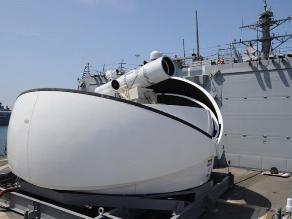 EEUU montará cañones láser en sus barcos de guerra