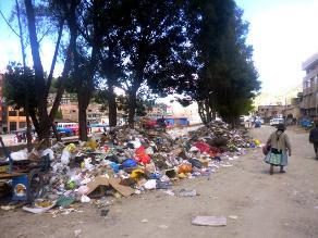 Andahuaylas: basura en las calles por ausencia de rellenos sanitarios