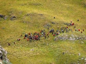 Cajamarca: Policía dispersó a comuneros en lagunas de Conga