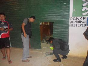 Huaraz: dinamitan casa de juez de la Corte Superior de Justicia