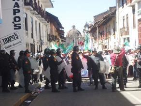 Organizaciones sociales advierten que protestarán en Cajamarca