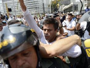 Leopoldo López está en prisión por su seguridad, según embajador