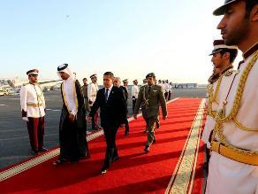 Presidente Ollanta Humala llegó a Emirato de Qatar en visita oficial