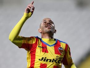 Valencia venció al Dynamo Kiev por los dieciseisavos de la Europa League