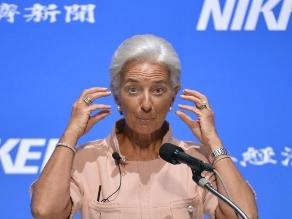 Lagarde no cree que economía china tenga un