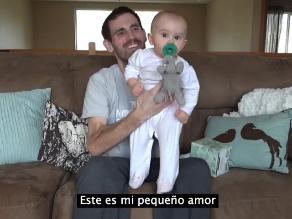Padre con cáncer deja video a su hija antes de morir