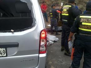 Un muerto y cinco heridos en aparatoso accidente en Mala