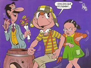 Condorito es ´Condorchavo´ en homenaje a Chespirito
