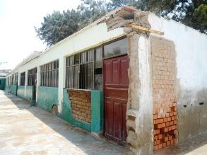 Virú: advierten pésimo estado de infraestructura de colegio José Olaya