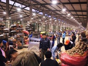 Gran Mercado Mayorista de Lima comercializó 1,5 mlls de toneladas el 2013