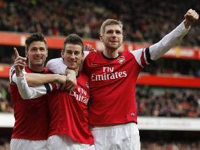 Arsenal golea a Sunderland y se recupera de derrota ante Bayern Munich
