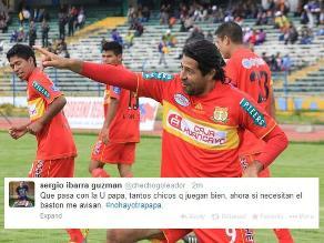 Sergio Ibarra se ofrece como solución de gol para Universitario