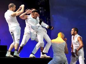 Con un show inolvidable Ricky Martin inauguró Viña del Mar