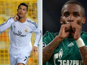 Ronaldo vs. Farfán: Estos son sus números previo al duelo por Champions