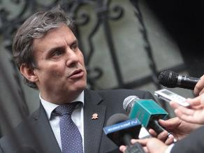 Figallo descarta que Heredia y Castilla hayan hostilizado a Villanueva
