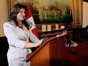 Perú Posible otorgó licencia a Carmen Omonte para que sea ministra