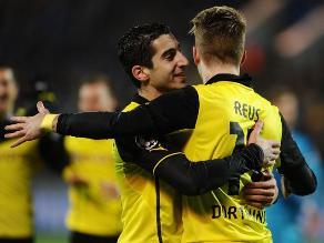 Borussia Dortmund venció 4-2 al Zenit en Rusia por la Champions League