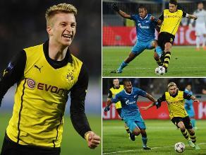 Revive el triunfo de Borussia Dortmund ante Zenit por Champions League