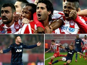 Revive la derrota del Manchester United ante Olympiacos en Champions