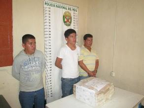 Sullana: policía incauta 33 kilos de clorhidrato de cocaína
