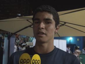 Diego Elías cumple sueño y vence a exnúmero uno del mundo en squash