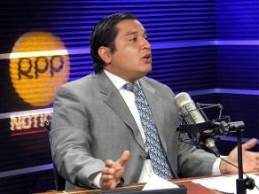 PJ evaluará dictamen que plantea archivar caso Sánchez Paredes
