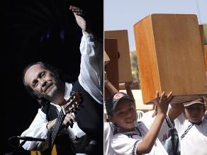Paco de Lucía y el cajón peruano: es el mejor complemento del flamenco