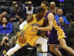 NBA: Paul George y los Pacers vencen a los Lakers agudizando su crisis