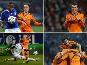 Champions League: Reviva el baile de Bale, Benzema y CR7 a Schalke y Farfán