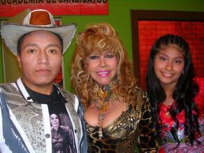 Tigresa del Oriente y Wendy Sulca tentadas por Marcelo Tinelli