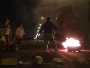 Cientos de varados por bloqueo de carreteras debido a huelga en Áncash