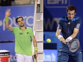 David Ferrer y Andy Murray ya están en cuartos del Abierto de Acapulco