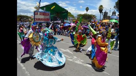 Cajamarca: reparten espacios para el corso del Carnaval