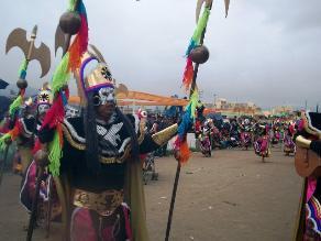 Cajamarca inicia sus carnavales con el ingreso del Ño Carnavalón