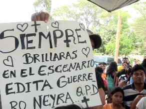 Declaran duelo en Pacaipampa tras muerte de Edita Guerrero
