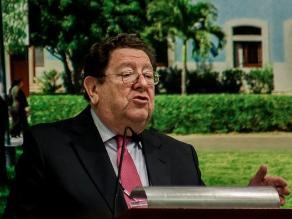 Exministro de Trabajo Mario Pasco Cosmópolis murió a los 74 años