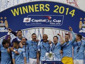 Manchester City remonta al Sunderland y conquista la Copa de la Liga