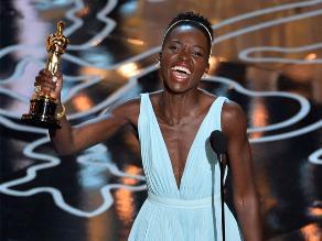 Óscar 2014: Lupita Nyong´o es la ganadora a mejor actriz de reparto