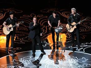 Óscar 2014: La famosa banda U2 interpretó ´Ordinary Love´