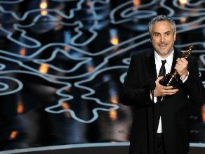 Alfonso Cuarón se lleva el Óscar al mejor director por ´Gravedad´