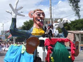 Cajamarca: cientos de delegaciones inician el gran corso del Carnaval