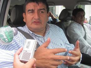 Humberto Acuña dice que sí renunciará a la presidencia regional