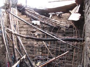 Bagua: tres niños se salvan de morir tras incendiarse su casa