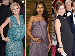 Mira quiénes son las embarazadas famosas del 2014