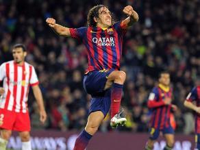 Carles Puyol y el adiós del capitán del mejor Barcelona de la historia