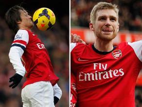 Per Mertesacker y Tomas Rosicky renovaron contrato con Arsenal