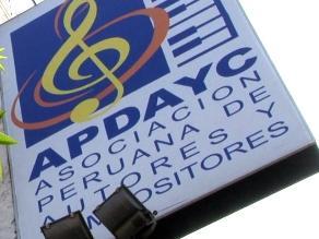 Apdayc: Reparto de regalías se hizo en base a reglamento de distribución