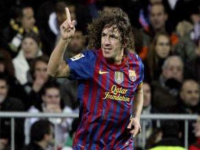 Gracias Puyol, así se titula el emotivo video del Barcelona